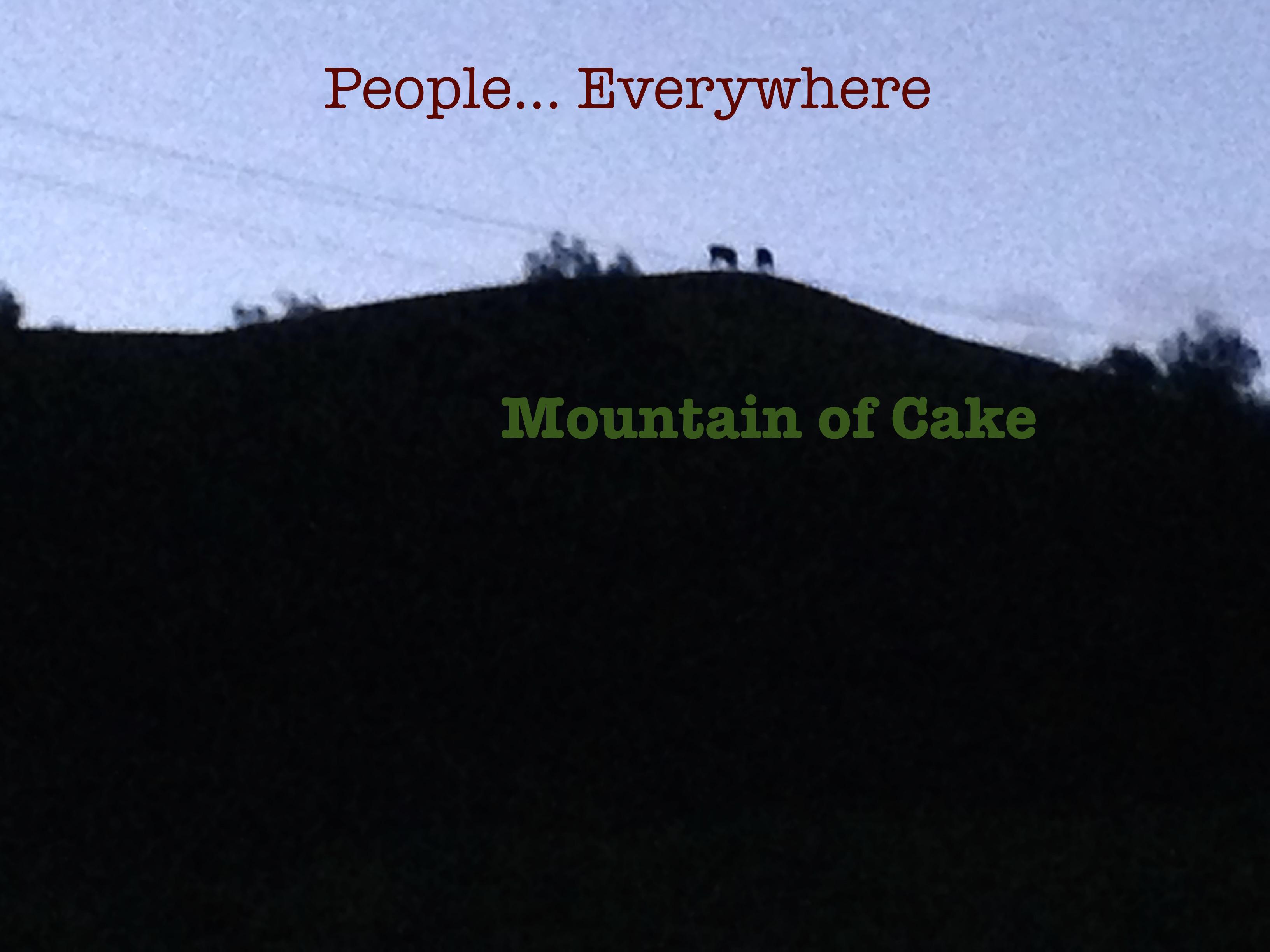 Mountain Of Cake