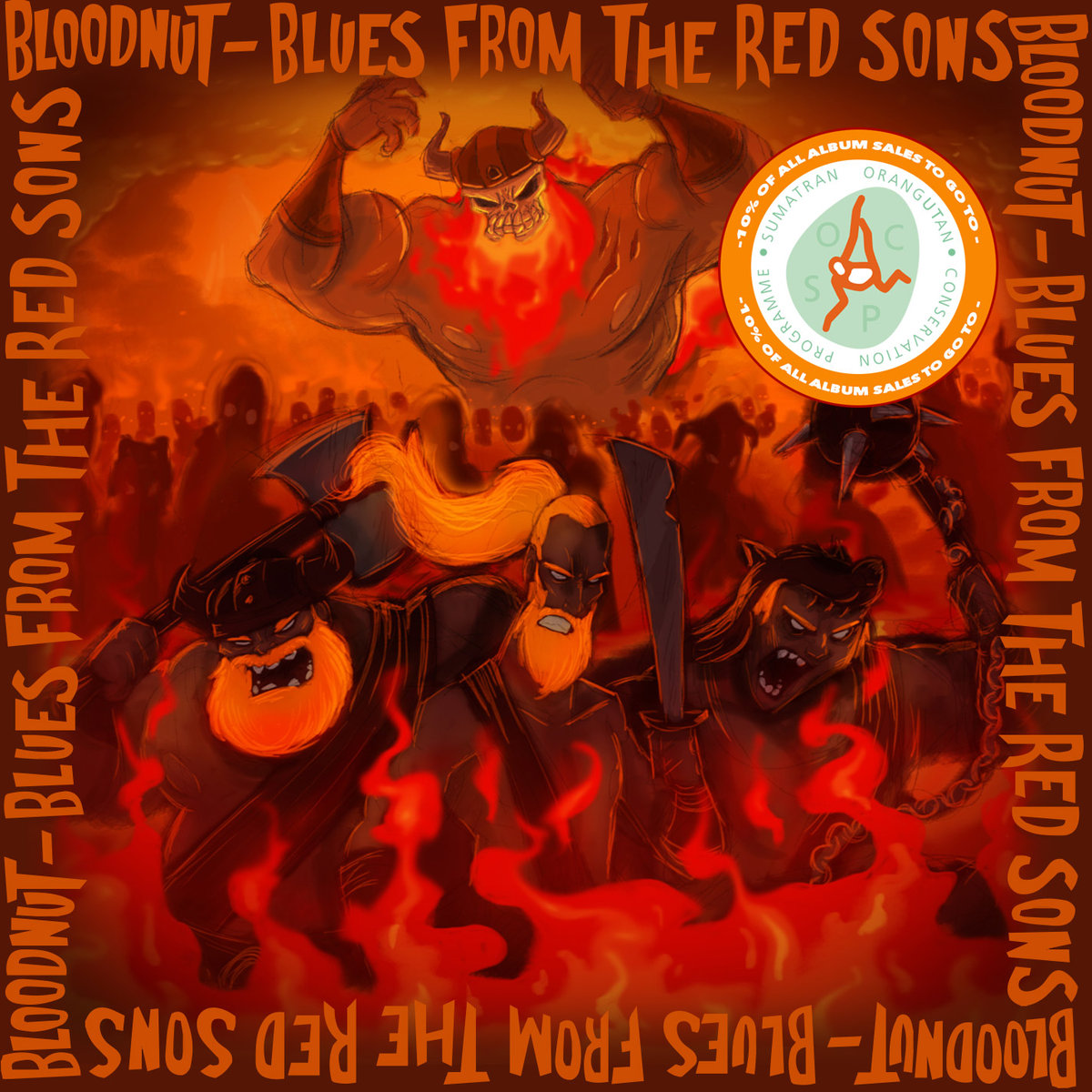 Blues From The Red Sons<br/> by Bloodnut