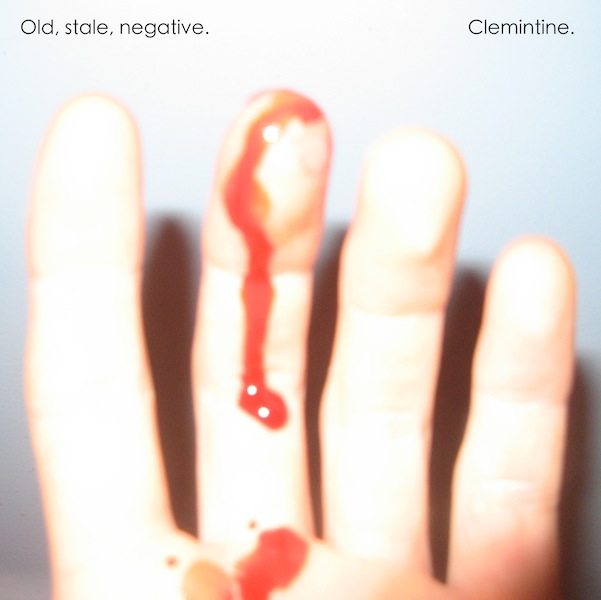 Old, stale, negative.